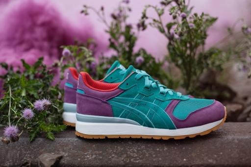"""9月27日开售由ASICS、Onitsuka Tiger和hanon三方联名推出的""""Glover""""主题系列球鞋"""