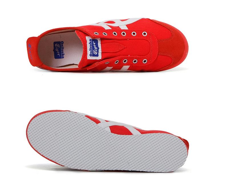 【2014年夏季】鬼冢虎MEXICO 66 SLIP-ON系列女式红色休闲运动鞋 TH3K0N-2001