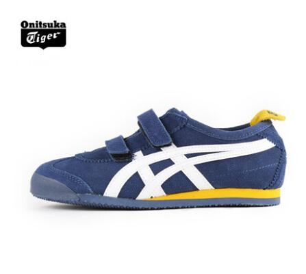 【2014年春季】Onitsuka Tiger儿童跑步训练休闲鞋MEXICO 66 C2A7L-5001