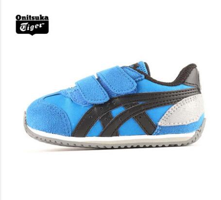 【经典】Onitsuka Tiger儿童KIDS复刻跑步休闲鞋CALIFORNIA78 C2A1N