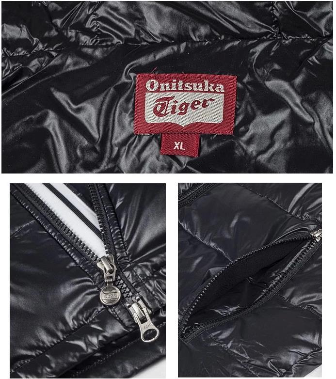 【2012年冬季】Onitsuka Tiger/鬼冢虎男士秋冬保暖羽绒服 外套 OKJ284-0090