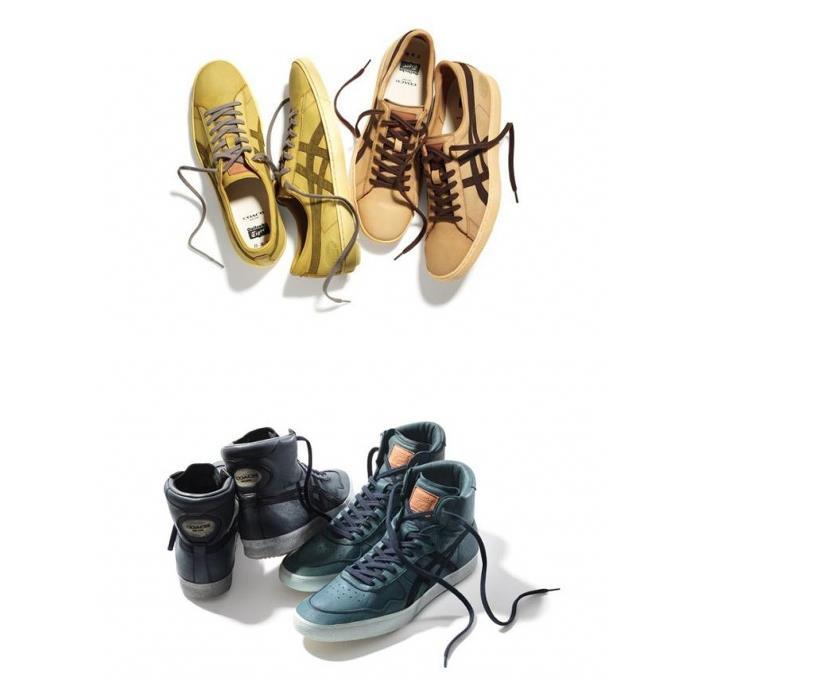 2014年鬼冢虎首次跨领域合作鞋履系列