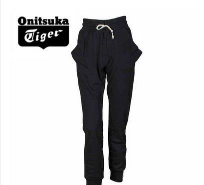 【2013年冬季】Onitsuka Tiger/鬼冢虎纯棉女式运动休闲宽松长裤 OKP699