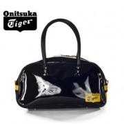 【2012年秋季】Onitsuka Tiger/鬼冢虎波士顿漆皮中性手提包 EOT394-9004