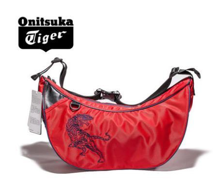 【2014年秋季】Onitsuka Tiger/鬼冢虎男女单肩斜挎通信包 胸包 EOT430-0023