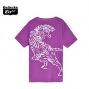 【2014年春季】Onitsuka Tiger/鬼冢虎经典印花T恤 运动POLO衫 OKT455 多色