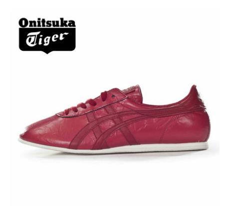 【2011年秋季】Onitsuka Tiger/鬼冢虎女式复古红休闲鞋 TAI-CHI HIINA TH0E4L-2424