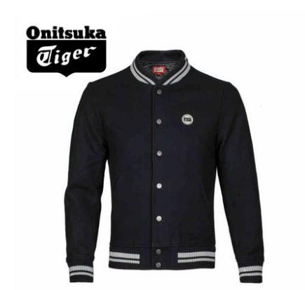 【2013年冬季】Onitsuka Tiger/鬼冢虎男士回首虎棒球服外套 OKJ289-0090
