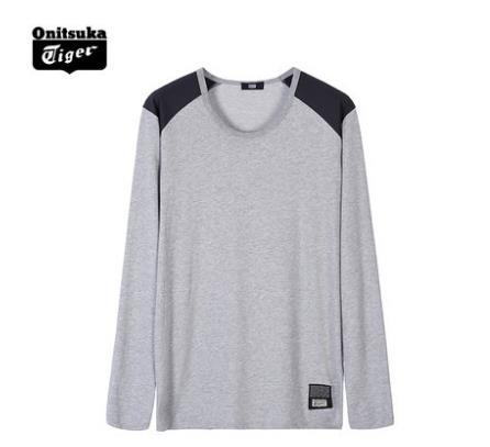 【2014年秋季】Onitsuka Tiger 经典T恤 运动长袖T恤 男女T恤款 OKT472
