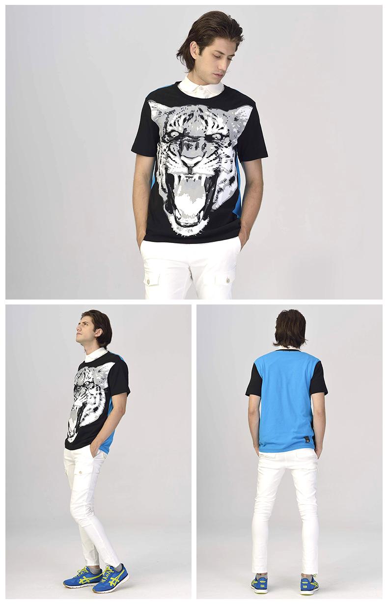 【2014年春季】Onitsuka Tiger OKT463 男女款夏季运动纯棉短袖印花T恤 多色