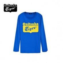 Onitsuka Tiger鬼冢虎 男女休闲长袖T恤 OKT461-0043