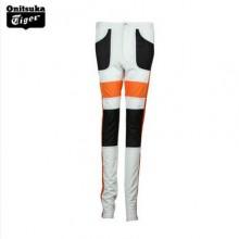 Onitsuka Tiger/鬼冢虎 OK611G  设计师款女式拼接紧身长裤