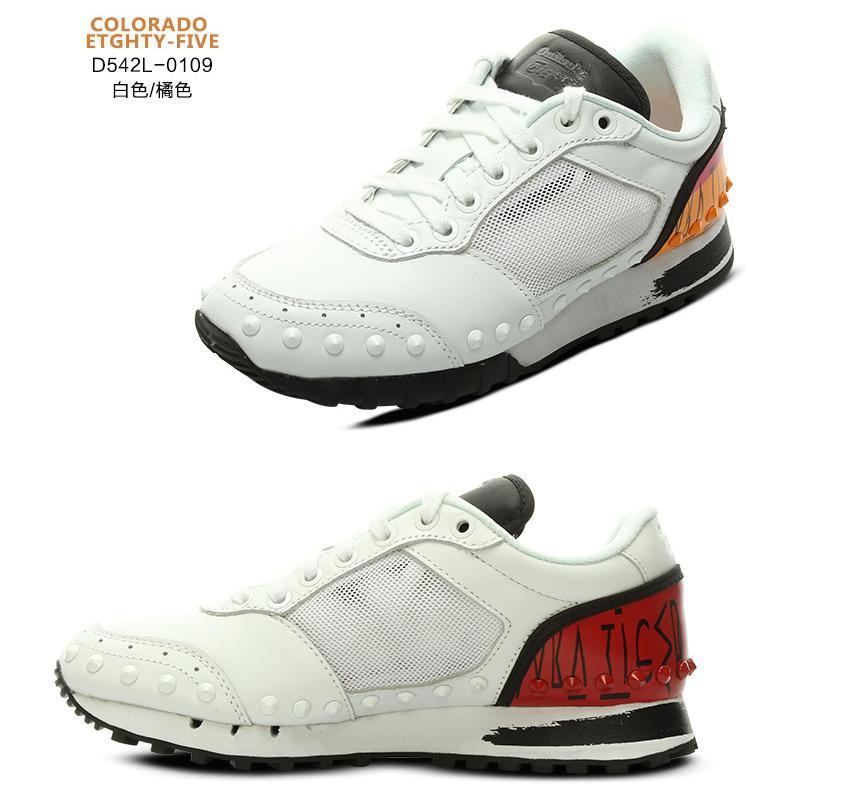 Onitsuka Tiger/鬼冢虎2015年夏季设计师联名新款 运动休闲中性板鞋 D542L