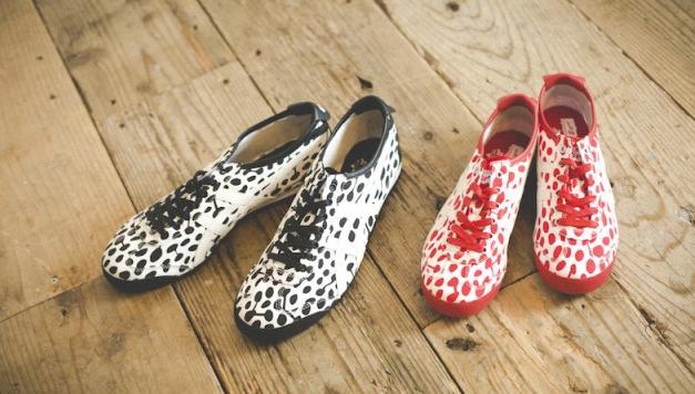 "Onitsuka Tiger将发售与印花织物品牌""MAKUMO""的联名鞋款"