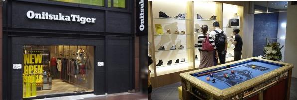 【SHOP INFO】关西和中部地区Onitsuka Tiger专卖店介绍!