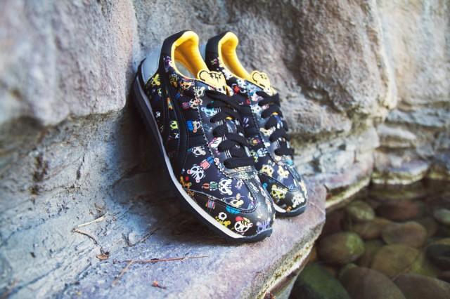 """适合亲子穿着的可爱设计,发售 与 """"tokidoki""""的联名款运动鞋。"""