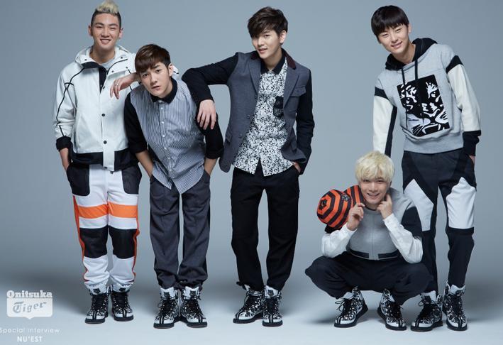 """宛如""""现代版的王子"""",在全球拥有超高人气的K-POP美型男子团体""""NU'EST""""登场!"""