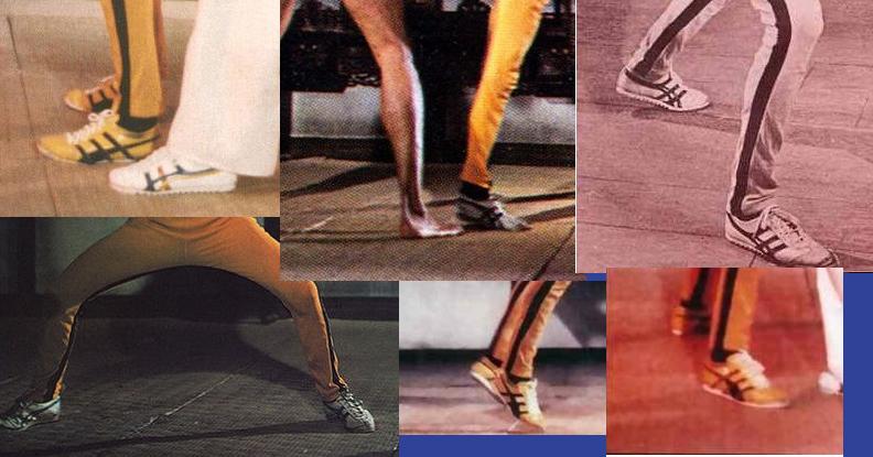 分析探讨下李小龙《死亡的游戏》电影中的鬼冢虎同款鞋子
