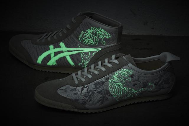 伊势丹新宿总店男士馆发售虎会在黑暗中浮现的新款鞋!