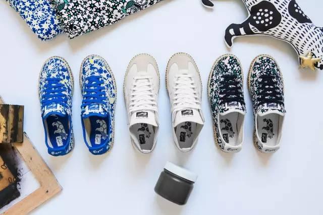 日本手绘品牌MAKUMO与Onitsuka Tiger合作鞋款尽显异想世界风格