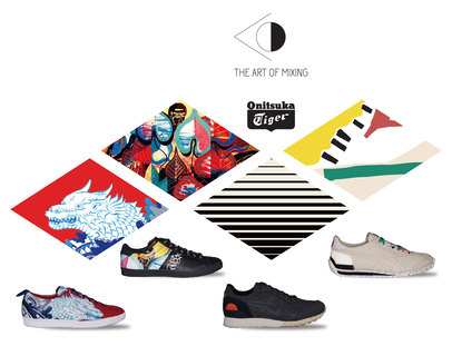Onitsuka Tiger推出〈The Art of Mixing〉联成系列