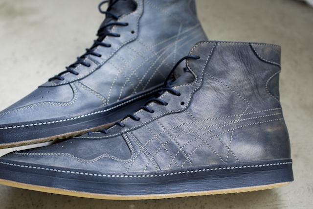 【FABRE NIPPON】表现复古感的日本制高帮鞋
