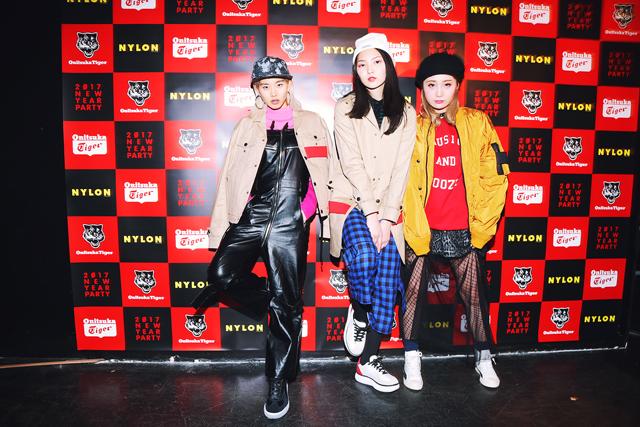 HIPHOP组合助阵Onitsuka Tiger高级派对活动