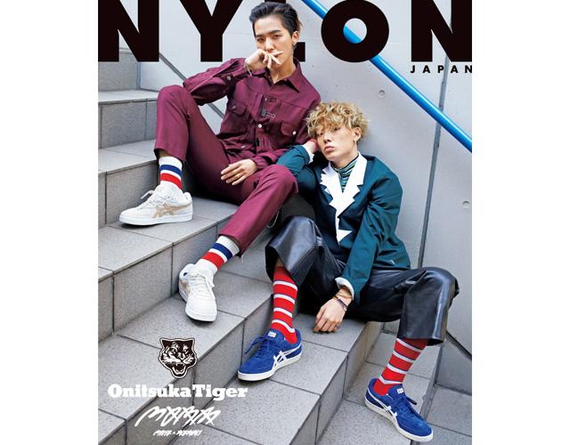 bigbang的最小的hiphop组合mobb nylon japan4月号限定版的封面上出现!