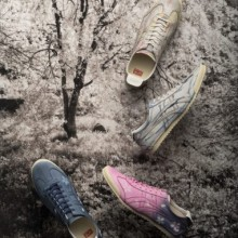 以樱花为主题设计的MEXICO 66 DELUXE限定鞋款