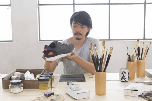 """Onitsuka Tiger全球主题推广项目""""融合的艺术"""""""