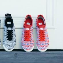 3月4发售的针织材料制作的个性化运动鞋
