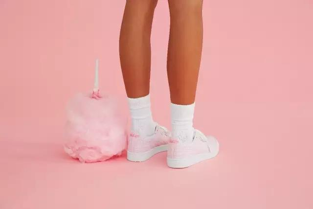 "Onitsuka Tiger GSM""Cotton Candy""x Naked|红粉炸弹,甜蜜来袭"
