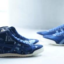 """采用传统工艺""""弓浜絣""""的考究鞋款NIPPON MADE"""