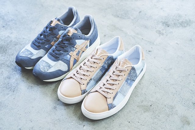 onitsuka tiger富有质感的生态友好型鞋
