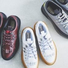 鬼冢虎新鲜又具有复古味道的简洁登山鞋