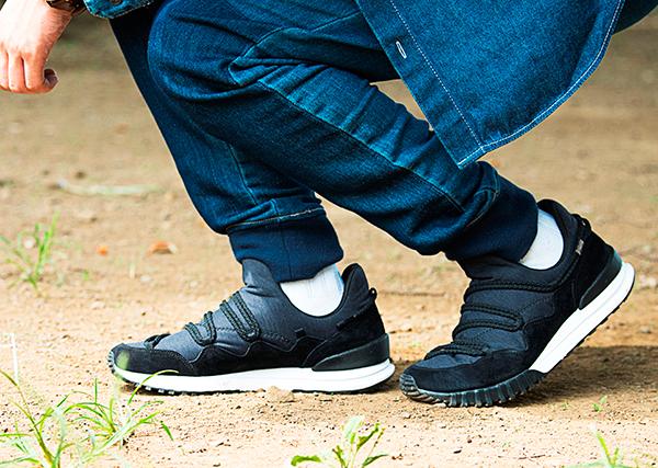 【MONTE CREACE】可以自由设计鞋带系法的运动鞋