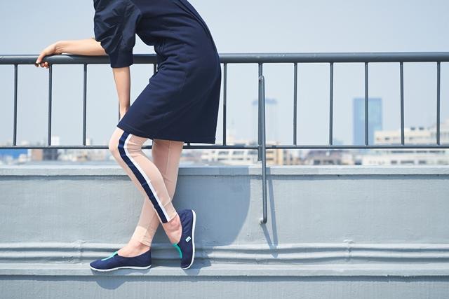洋溢着休闲气息的女性专属懒人鞋 GYMNASTICS