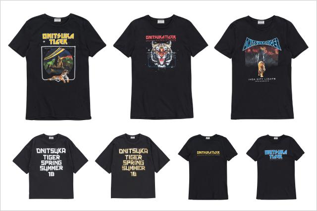 具有摇滚风格的T恤【GRAPHIC T-SHIRT】