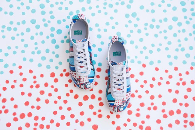 爱玩风鞋款『TIKI』图腾