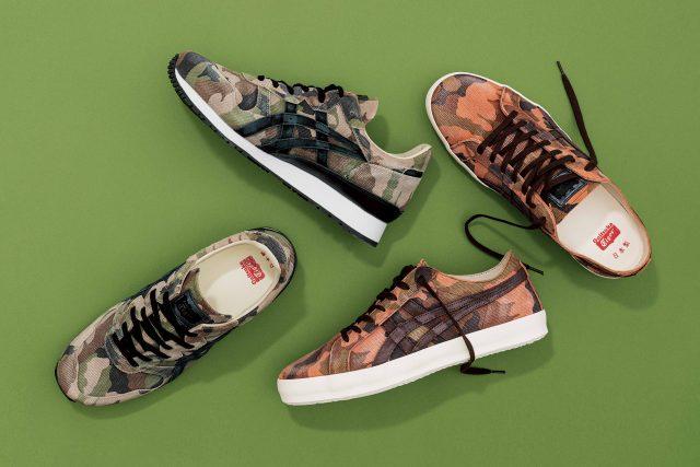 初夏就应该配有一双像样的花色迷彩鞋