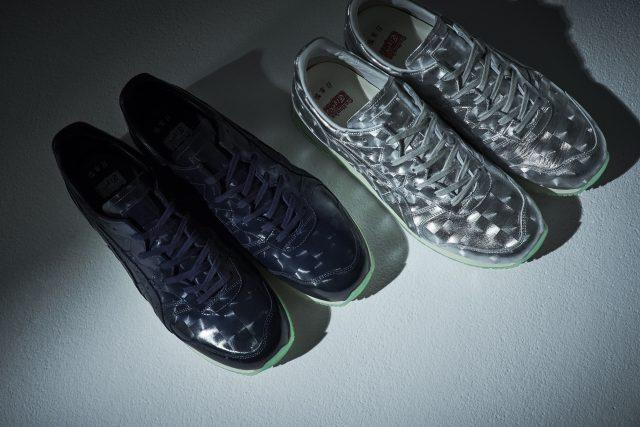以1980年代华丽的夜店和迪斯科舞厅为形象的鞋型