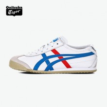 Onitsuka Tiger官方男女小白鞋MEXICO 66DL408潮搭休闲鞋