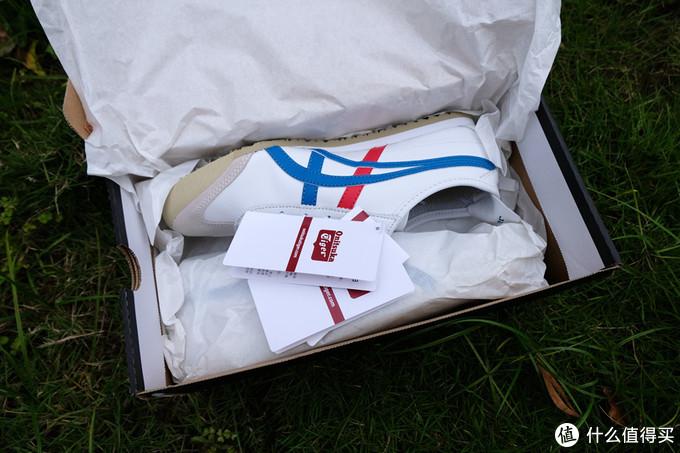 值友开箱体验人气款经典红白蓝复古小白鞋