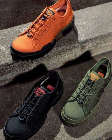 以1966年出现的登山鞋为特色的现代风格